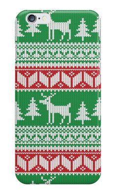 Our Christmas Jumper Pattern Christmas Phone Case is available online now for just £5.99.    Check out this cute Christmas jumper pattern phone case! Get this novelty case printed with a Christmas jumper pattern.    Material: Plastic, Production Method: Printed, Weight: 28g, Thickness: 12mm, Colour Sides: Clear, Compatible With: iPhone 4/4s | iPhone 5/5s/SE | iPhone 5c | iPhone 6/6s | iPhone 7 | iPod 4th/5th Generation | Galaxy S4 | Galaxy S5 | Galaxy S6 | Galaxy S6 Edge | Galaxy S7 | Galaxy…
