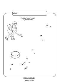 Majstrovská sveta v hokeji - pracovné listy pre deti
