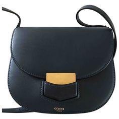 Celine Trotteur leather bag