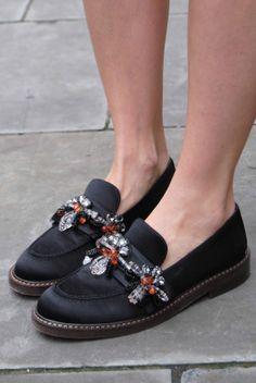 Jewelled trend in footwear & accoessories #AW14/15, #footwear, #jewelled