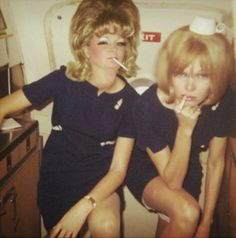 vintage everyday: Beautiful Vintage Stewardess