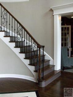 27. #simple et moderne - 37 #crainte inspirants #escaliers que vous aurez #envie de copier dans #votre maison... → #Lifestyle