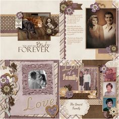 GingerScraps :: Templates :: Legacy Of Love - 12x12 Temps (CU Ok)