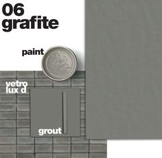 NEUTRA 6.0 - A new version of the series that has marked the origin of the Casamood brand. After a successful decade Neutra has expanded its family to become an increasingly evolved container. The palette is enriched with vibrant colours and oversized formats, coordinated stucco and painting enrich the proposed total look. #grafite #grey #mosaics #glass #decoration