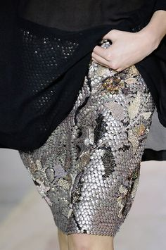 Dries van Noten, Spring 2011. I think i would rather use studs or something similar instead of sequins.