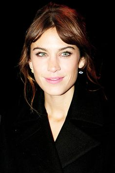 Alexa Chung attends the Late Late Show on November 21, 2014 in Dublin, Ireland.