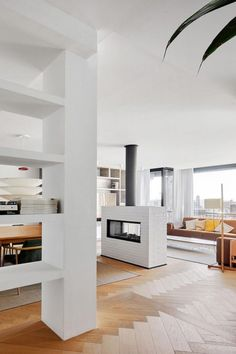 Stunning apartment designed by Conti. Cert Arquitectos in Barcelona - CAANdesign | Architecture and home design blog