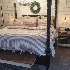 Fabulous Rustic Master Bedroom Design Ideas You Definitely Like - The master bedroom is indeed one of the most eye-catching areas of the house and a room that every visitor wishes to look at. Why not make this room o. Modern Bedroom Design, Contemporary Bedroom, Bedroom Designs, Modern Contemporary, Eclectic Modern, Purple Bedrooms, Bedroom Red, Bedroom Suites, Bedroom Boys