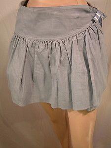 Girl\'s Ralph Lauren Summer Corduroy pleated wrap Skirt in Powder Blue sz 12 888097014717   eBay