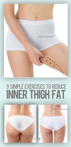 9 simple exercises to reduce inner thigh fat | Posted By: AdvancedWeightLossTips.com