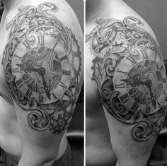 steampunk clock tattoo - Yahoo Image Search Results