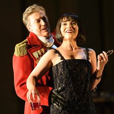Giulio Cesare on the Glyndebourne stage tonight. Only a few more performances left of this five star production. Phot