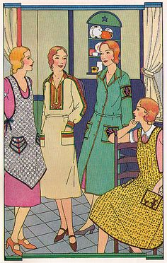 1931 house frocks and aprons