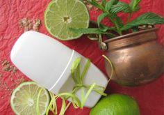 Recette : Déodorant crème Palmarosa, Menthe & Citron vert - Aroma-Zone