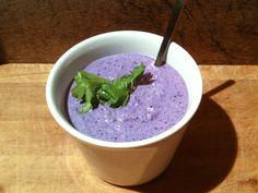 Delicious lilla sauce © Vegan Blogs, Tofu, Vegan Vegetarian, Salsa, Veggies, Ice Cream, Pudding, Ethnic Recipes, Desserts