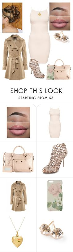 """""""Untitled #64"""" by bubba-imagirl ❤ liked on Polyvore featuring AX Paris, Balenciaga, Sergio Rossi, Ted Baker and Ippolita"""