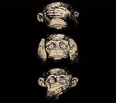 Los tres monos sabios