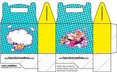 Caixa Lembrancinha Barbie Super Princesa