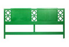 Green Headboard, Emily Henderson's flash sale.