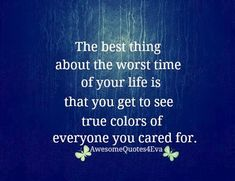 so very true. some people will surprise you. others will let you down