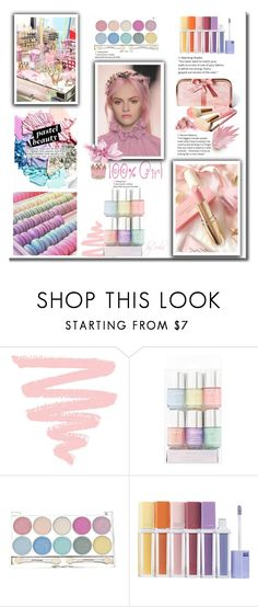 """Pretty Pastel Makeup"" by eula-eldridge-tolliver ❤ liked on Polyvore featuring beauty, Color Me, H&M, Sephora Collection and Etude House"