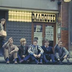 Outside the Marquee Club
