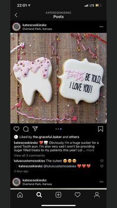 Valentine Desserts, Valentine Cookies, Valentines, Iced Cookies, Cupcake Cookies, Sugar Cookies, Cookie Ideas, Cookie Recipes, Cookie Decorating