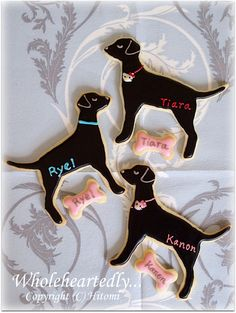 Dog cookies by Hitomi