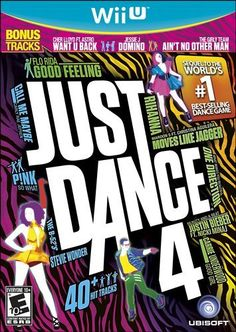 Dancing games are a great way to have some fun and get exercise! Just Dance 4, Dance Games, Wii Dance, Dance Music, Fun Music, New Super Mario Bros, Walmart, Klum, Baby One More Time