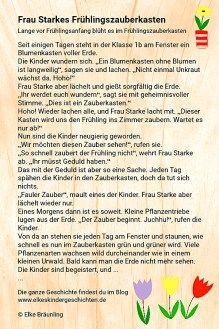 Frau Starkes Frühlingszauberkasten