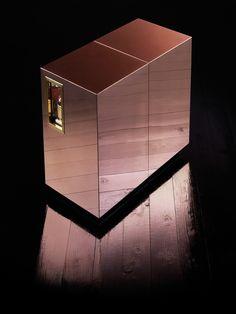 Bespoke Global - Product Detail - Copper Drinks Trolley