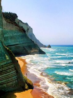 Loggas Beach, Corfu, Greece