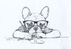 Jeroen teunen , Teunen , Self-portrait , French Bulldog