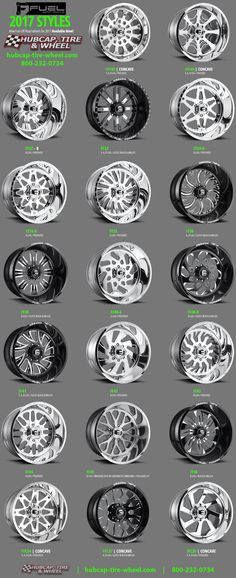 The new 2017 Fuel Off-Road Forged Wheels & Rims for Jeeps, Trucks & SUV's #RimsforCars
