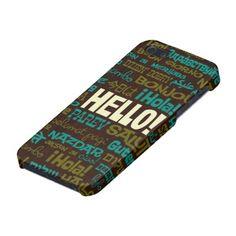 Hello (Multi Language) iPhone 5 Case