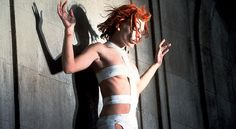 "In 1997, an orange-haired Milla Jovovich literally crash-landed in ""The Fifth Element"" screeching an alien language and artfully entangled in medical bandages. The strategic wrapping on the supermodel waif's frame came from a collaboration between director Luc Besson and oh-so-high fashion designer Jean-Paul Gaultier."