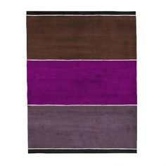 By Second Studio - Shida Organic Rug SO10 at 2Modern - plum for kitchen