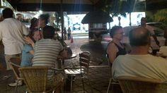 nighttime 5 th ave Playa de Carmen boardwalk