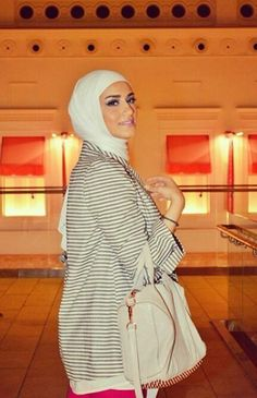 The Beauty Of White Hijab