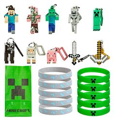 Fantastic ideas for hosting a Minecraft birthday party at home! This post includes free printable Minecraft party invitations, ideas for Minecraft party games and snacks, and Minecraft party thank you notes! Birthday Party At Home, Happy Birthday Girls, Birthday Party Games, 6th Birthday Parties, Birthday Activities, 9th Birthday, Birthday Ideas, Minecraft Party Favors, Minecraft Party Decorations