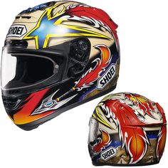 Shoei Helmets: Pictures and Specifications