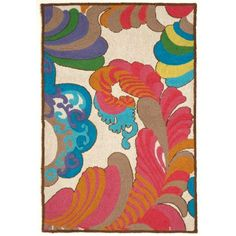 Briana's daily delight: psychedelic rug on hgtv.com