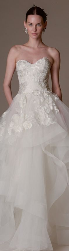 ♧♣ Bridal Spring 2016 Marchesa ♧♣