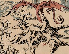 Smaug And The Lonely Mountain Art Print By FloresArts | Society6 | Tattoos  | Pinterest | Mountain Art, Lonely And LOTR