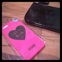 VS bundle deal-Just Reduced  Iphone 6 case and coin purse. No trades. We'll give $3 off so you can get discount shipping as well.  Victoria's Secret Accessories