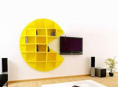 pac man book shelves