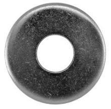 100 St�ck Edelstahl V2A Unterlegscheiben DIN 9021 5,3 (5 mm Schrauben)