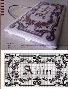 Atelier Cross stitch chart