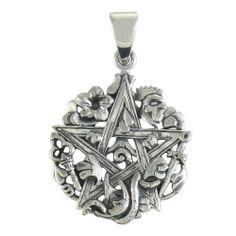 Sterling Silver Cimaruta Pentacle Pentagram Pendant Wicca Jewelry Dryad Design http://www.amazon.com/dp/B007LR2PWG/ref=cm_sw_r_pi_dp_YMrPtb05GJK90S4W
