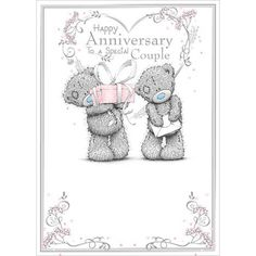 Anniversary Couple Me To You Bear Card : Me to You Bear Store, the entire Me to You Bear Collection including Plush, Figurines, Stationary, Balloons and Bikes.